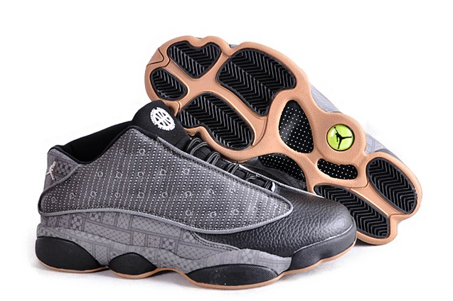 brand new 0fd53 cc2d4 Nike Air Jordan 13 XIII Retro Low QUAI 54 Q54 Grey Black Yellow ...