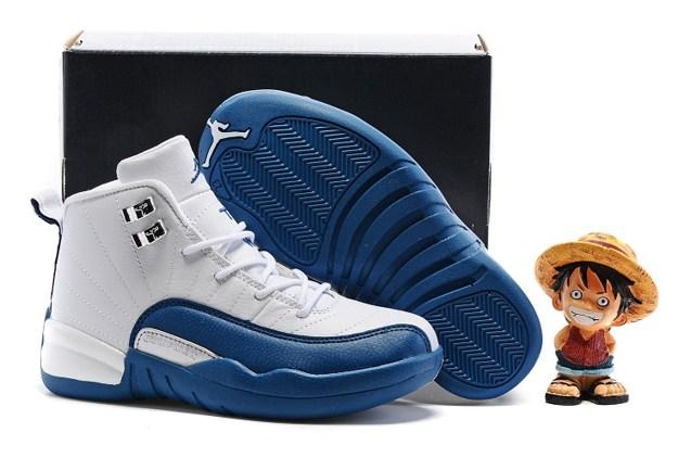 best service d0dc7 b1122 Prev Nike Air Jordan Retro 12 French Blue GS Kid 153265 113