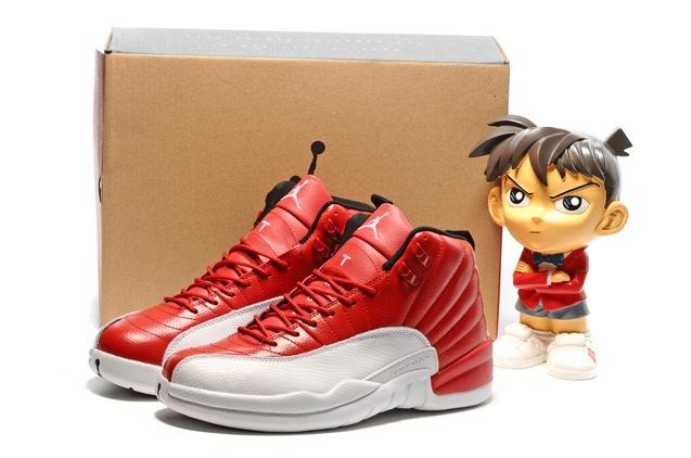 new styles 95cdb 9a472 ... nike air jordan xii 12 retro cherry white black men shoes 130690 110