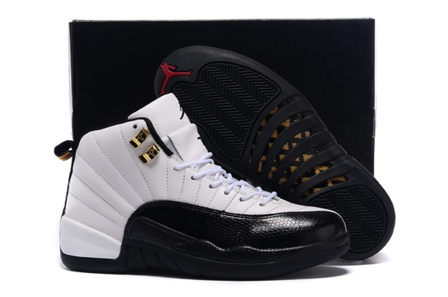 b90a18664ea318 Prev Nike Air Jordan XII 12 Retro White Black Taxi Red Men Shoes 130690  125. Zoom