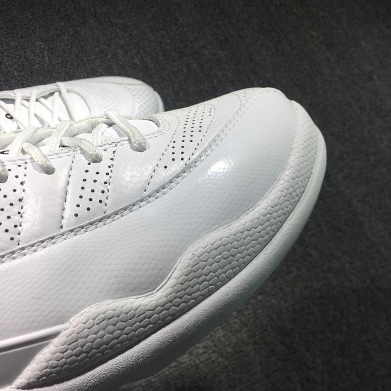 save off dc0cf 534a0 ... Nike Air Jordan 12 XII Sunrise Retro Men Shoes White Black 130690 ...