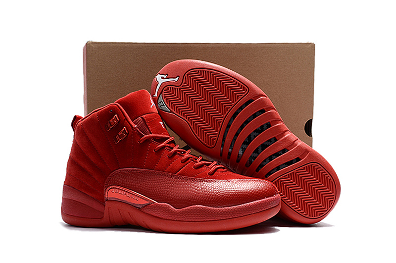 timeless design f47d9 c4939 Prev Nike Air Jordan XII 12 Retro All Red Men Shos 130690. Zoom