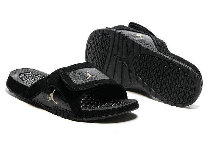 1b6ecbddcb7bf8 Prev Nike Jordan Hydro XII Retro Men Sandals Slides Black Gold 820265-012