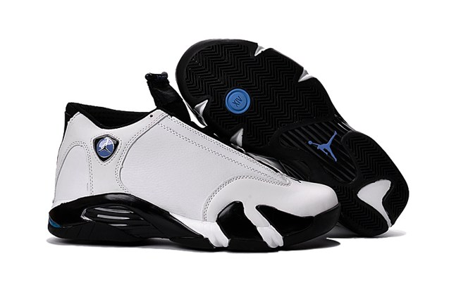 44ec4a5daf2874 Prev Nike Air Jordan 14 Retro XIV Low Ferrari White Black Blue 807511. Zoom