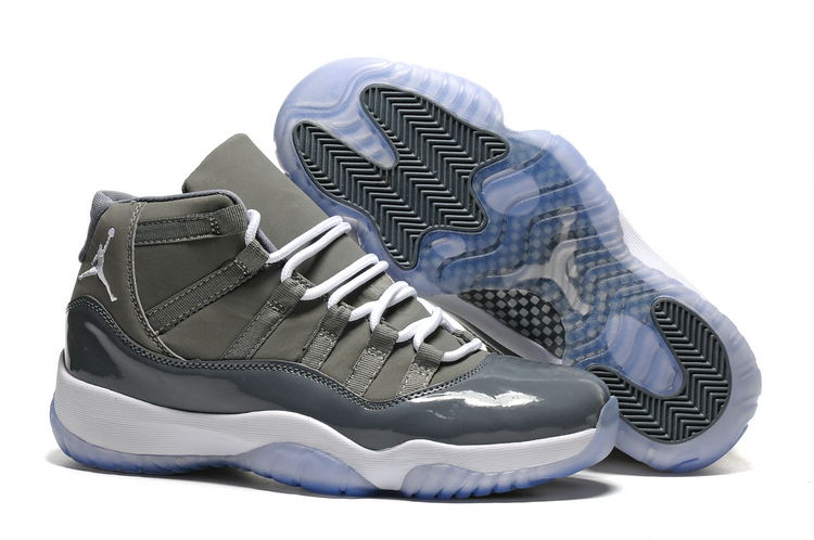uk availability 51d44 1d848 Nike Air Jordan Retro 11 XI Cool Grey Men Basketball Sneakers Shoes ...
