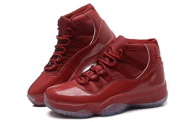 6d2002d9623 Nike Air Jordan Retro XI 11 Red Women Shoes 378038