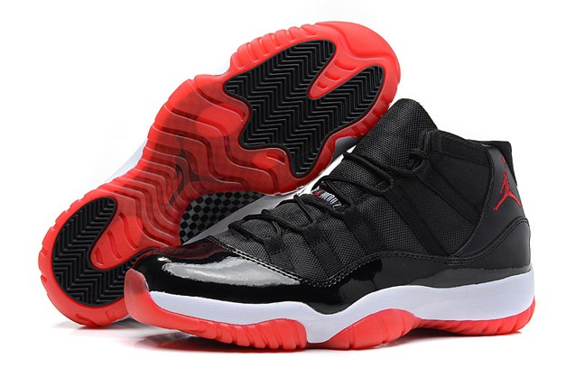 d2383e9bd6 Nike Air Jordan XI 11 Retro Black Varsity Red White Bred 378037 010
