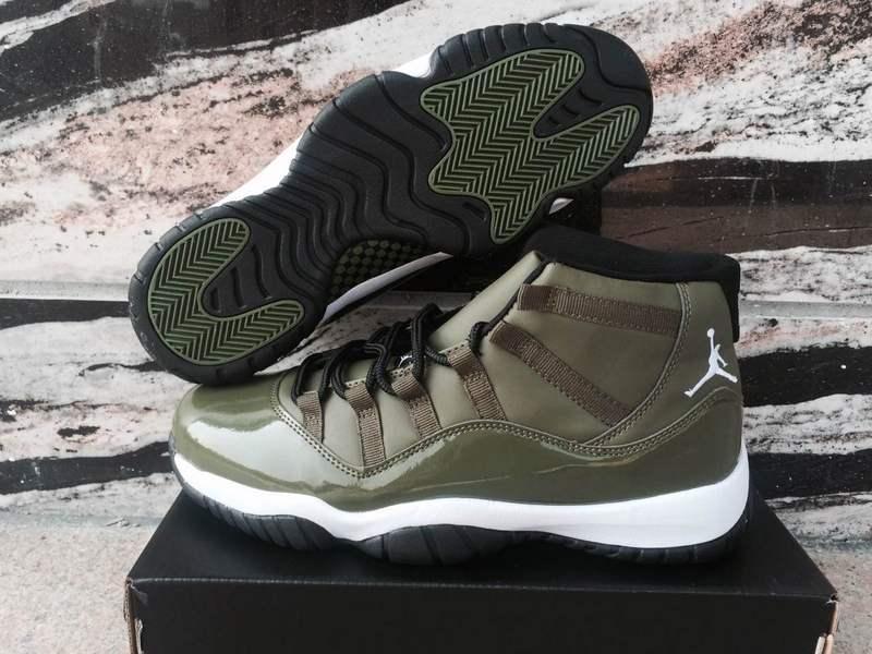 11 Air Olive Men Green Basketball 421 Jordan 378037 Xi Nike Shoes Retro Pn8wO0kX
