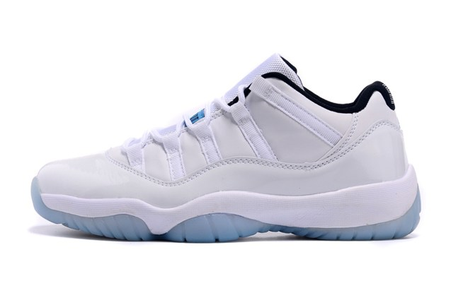 check out 15a6b e9967 ... reduced nike air jordan 11 xi retro low legend blue columbia men shoes  528895 0f191 1e454