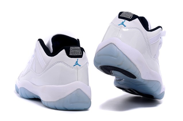 online store b82cf 87ed5 ... reduced nike air jordan 11 xi retro low legend blue columbia men shoes  528895 c0b62 ba9e5