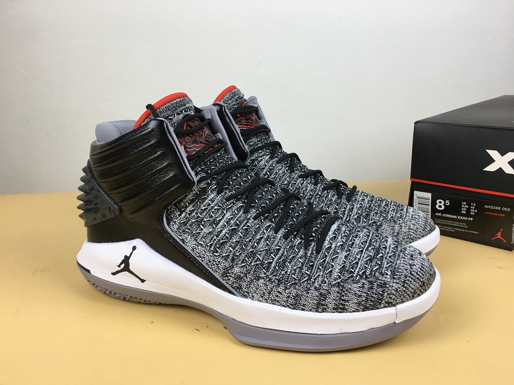 dbcb65645244 Prev Nike Air Jordan XXXII 32 Retro Men Basketball Shoes MVP Deep Grey Black.  Zoom