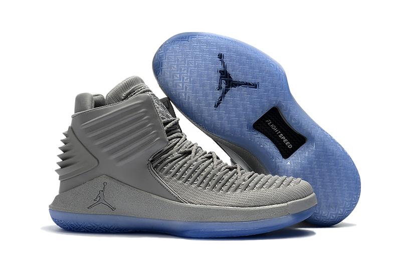 f2609f67dda Prev Nike Air Jordan XXXII 32 Retro Men Basketball Shoes Wolf Gray All. Zoom