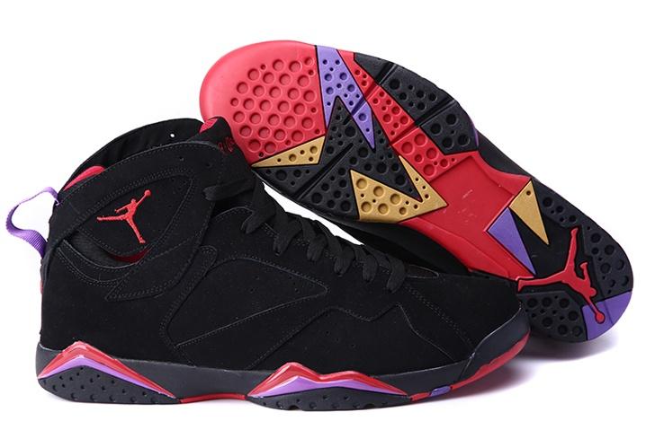 ef210da0 Prev Nike Air Jordan VII 7 Retro Black Red Charcoal Purple Raptors 304775- 018