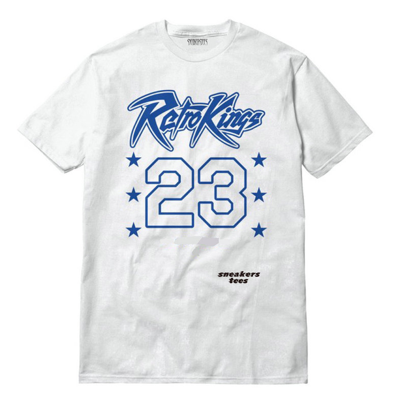 89525f5e6c7 Jordan 3 True Blue Shirt All Retro Kings 23 White - Febbuy