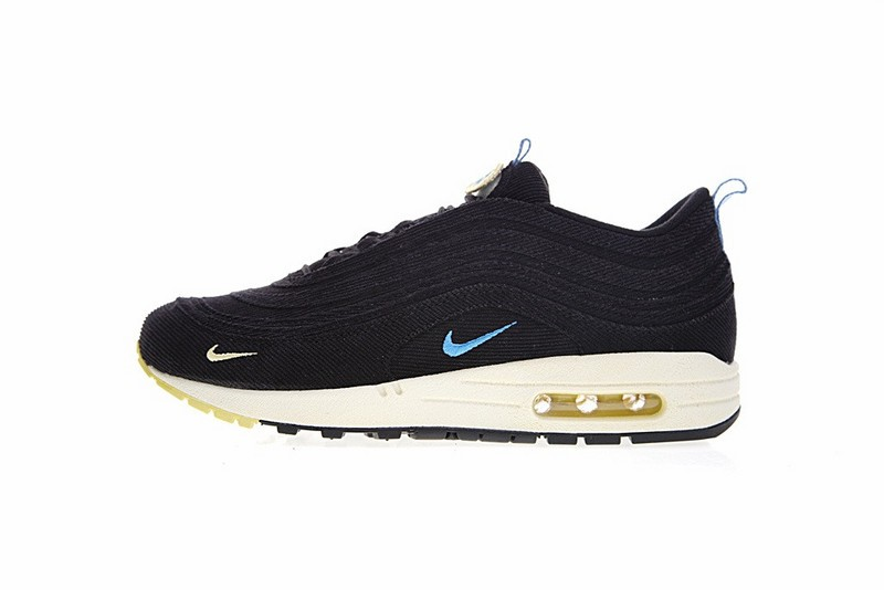 9ee032620d Prev Sean Wotherspoon x Air Max 1 97 VF SW Hybrid Black Blue Yellow AJ4219 -003