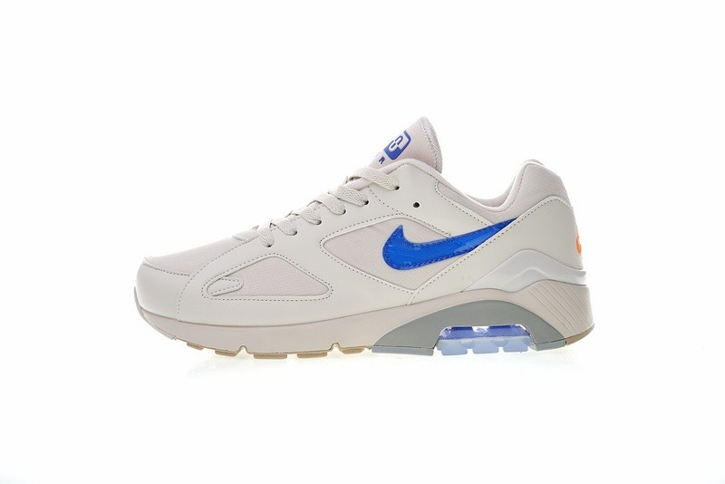 b24ce57697ee1e Nike Air Max 180 Desert Sand Racer Blue Total Orange AQ9974-002 - Febbuy