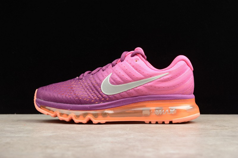 Prev Nike Air Max 2017 Womens Running Shoes Bright Grape Fire Pink 849560- 502. Zoom 44e6937a1