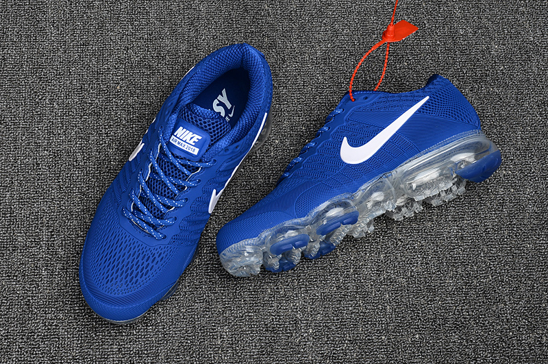 Nike Air Max 2018 Running Shoes KPU Men Blue White 849558-013 - Febbuy 65f86b204