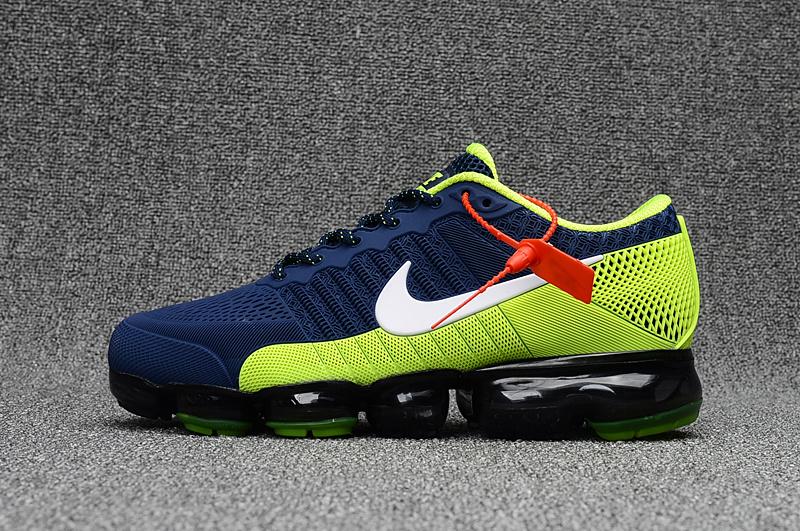 25648df256 Nike Air Max 2018 Running Shoes KPU Men Deep Blue White Green 849558-012 ...