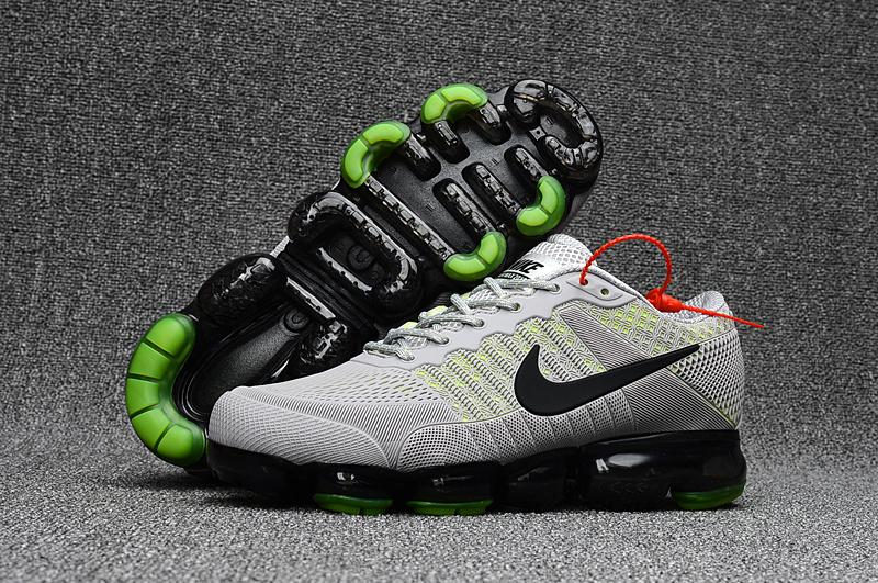 8cd5952564 Nike Air Max 2018 Running Shoes KPU Men Grey Green 849558-015 - Febbuy