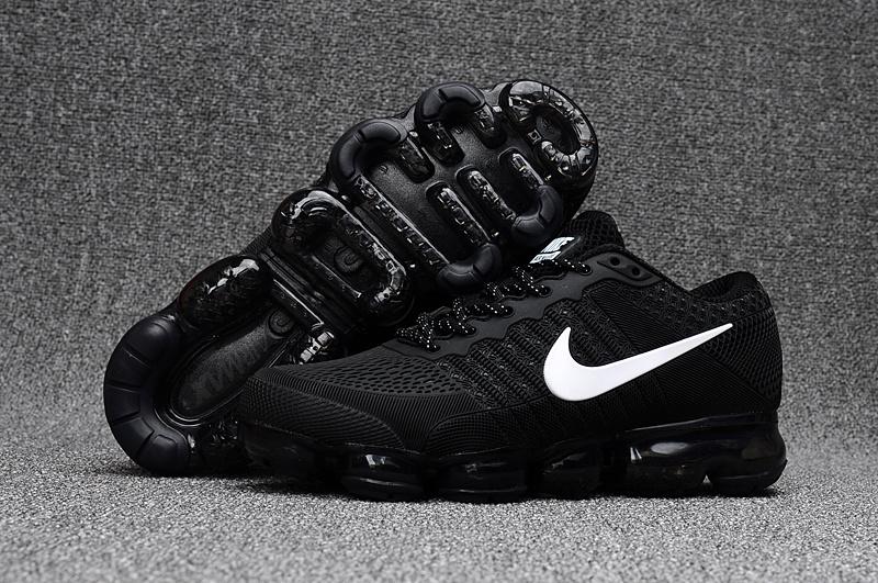 fef938c335 Nike Air Max 2018 Running Shoes KPU Unisex Black White 849558-001 ...