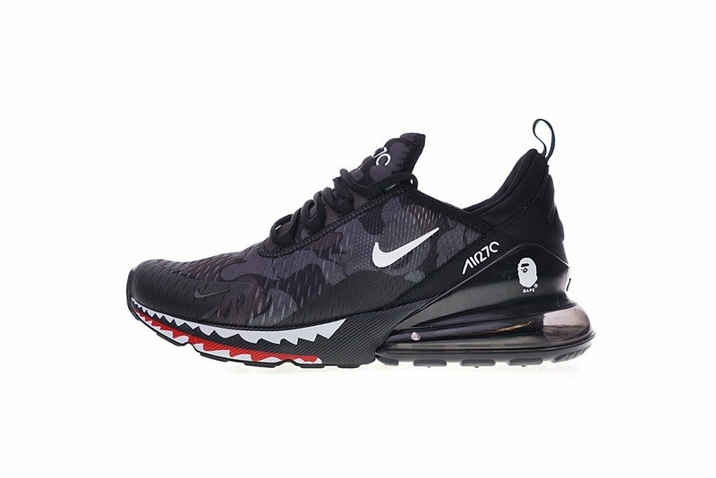 various colors 23f59 7718d Prev A Bathing APE x Nike Air Max 270 Japanese Camo Bape Camo Black Grey  AH6799-