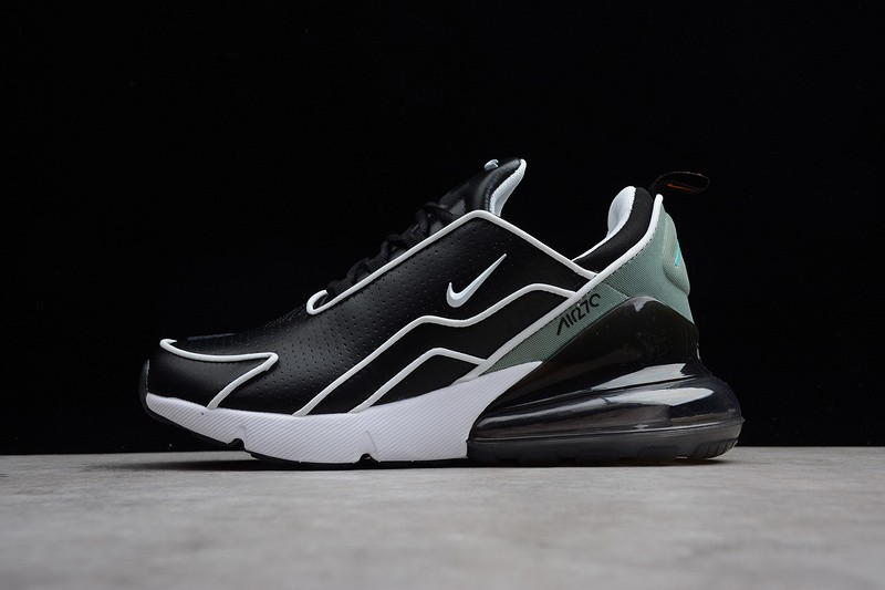 51996ab473 Nike Air Max 270 Flyknit Black White Light Green AH8060-001 - Febbuy