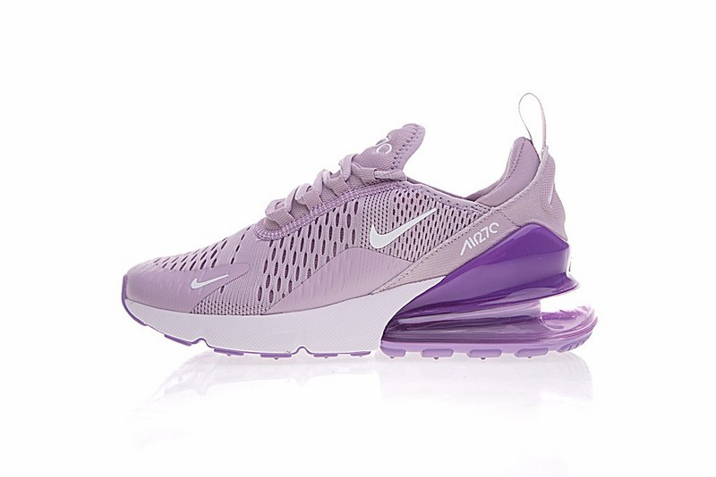 008fb65754 Nike Air Max 270 Flyknit Lavender Purple White Light Violet AH8050 ...