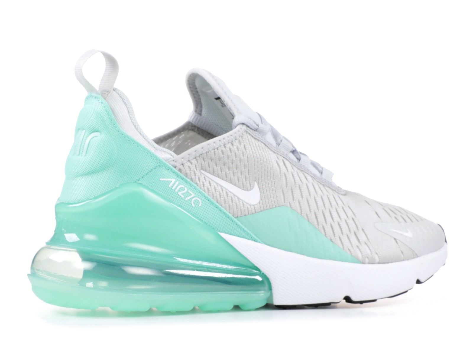 Nike Air Max 270 GS Platinum White Pure 943346 002 Febbuy