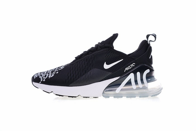 Nike Air Max 270 ID Moves You Black Air Cushion Running Shoes BQ0742 991