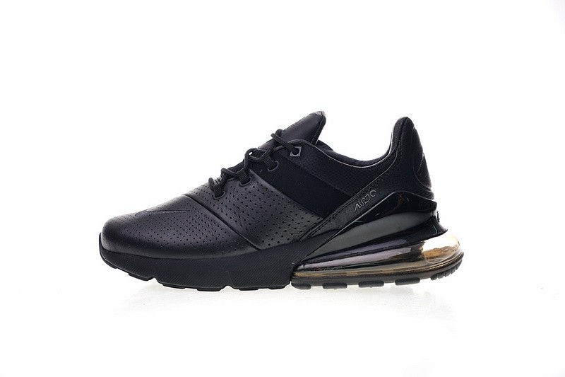best website 35c55 9d30d Prev Nike Air Max 270 Premium Leather Black Breathable Casual AO8283-011