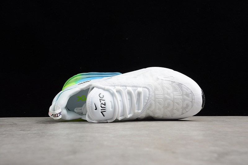 more photos dcfd9 d59d1 ... Nike Air Max 270 SE White Explosion Green Yellow AQ9164-100 ...