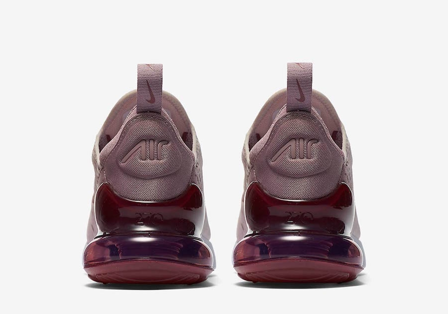Nike WMNS Air Max 270 Barely Rose Vintage Wine-Elemental Rose-White AH6789- db6f19b35