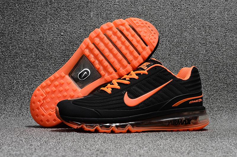 new arrival bc589 9097c Prev Nike Air Max 360 KPU Running Shoes Men Black Orange 310908-008. Zoom