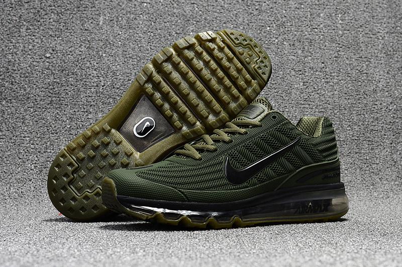 0fc42a4c1a81 Nike Air Max 360 KPU Running Shoes Men Green All 310908-003 - Febbuy