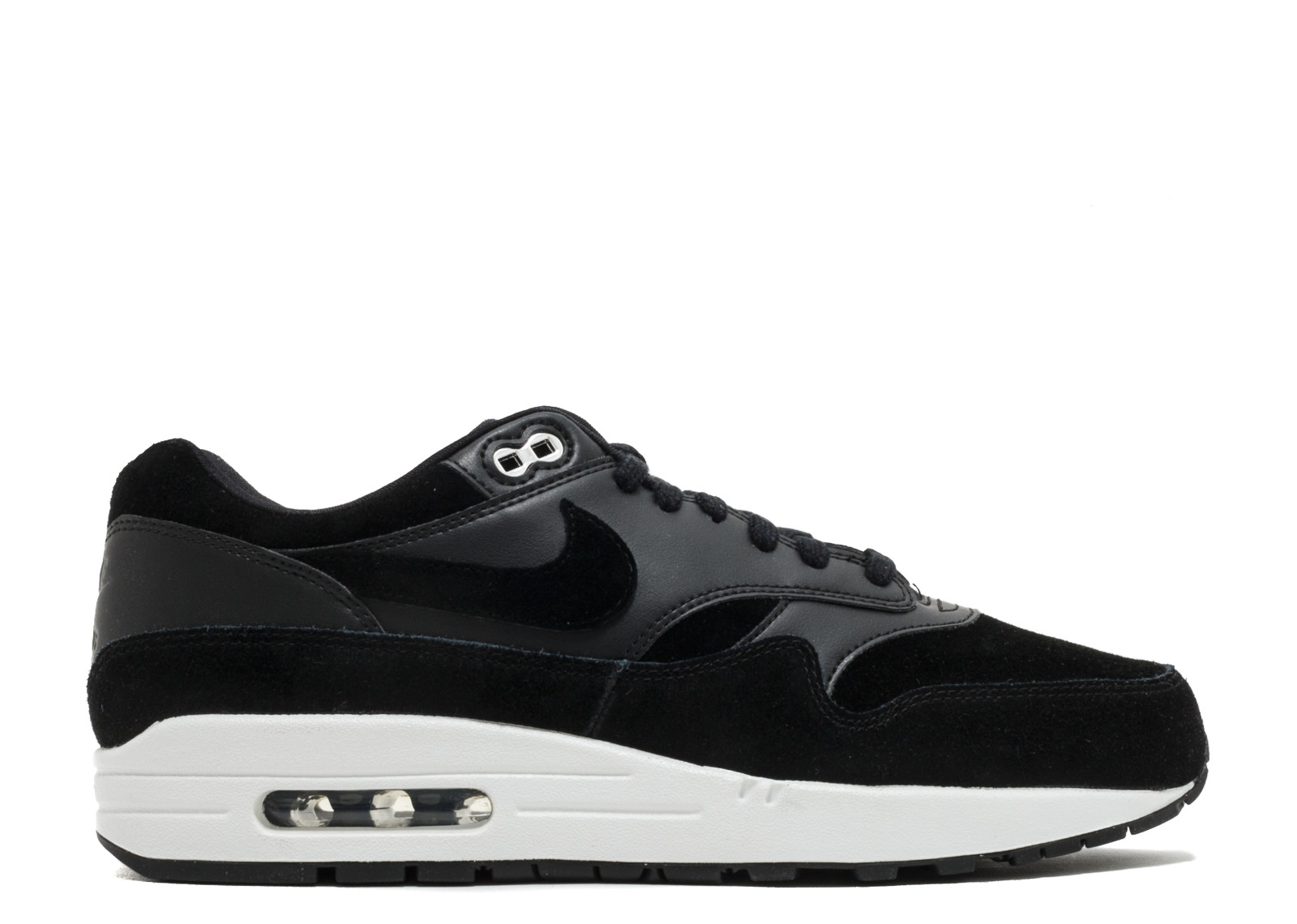 685c115c58 Air Max 1 Premium Skulls Chrome Off White Black 875844-001
