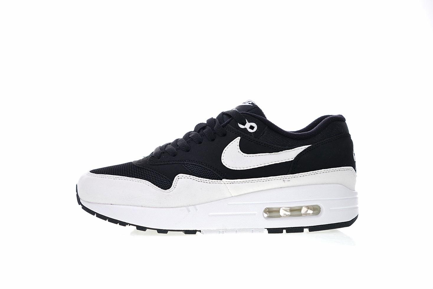8e8317830f7 Prev Nike Air Max 1 Black White Sneakers University Classic 319986-034