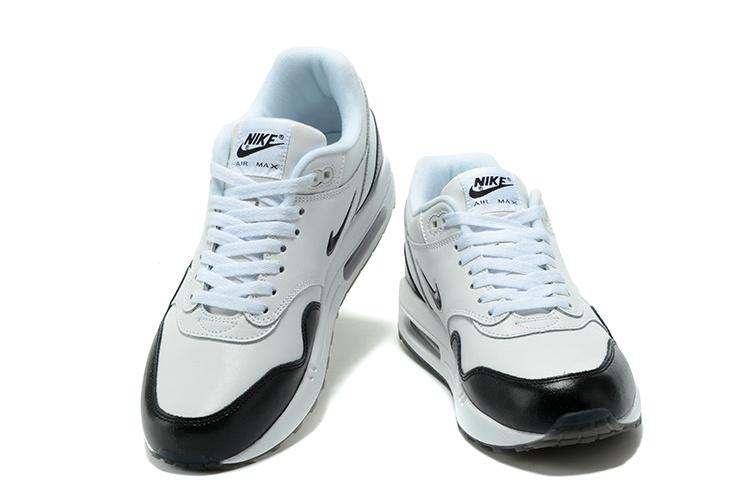 info for 8a27b 02b2d ... Nike Air Max 1 Master Running Men Shoes White Black 875844 ...
