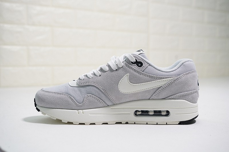 reputable site e34a4 4a068 Prev Nike Air Max 1 Premium Mini Swoosh Pure Platinum 875844-006