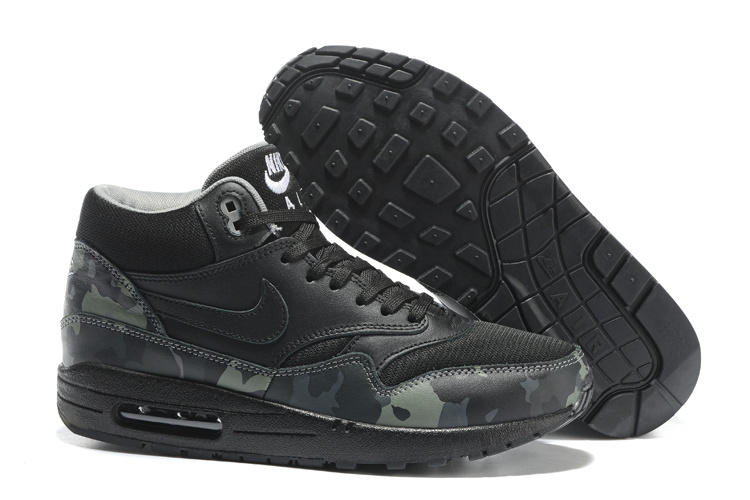 1 Camo Mid Fb Men Black Grey Air Shoes 685192 001 Running Nike Cool Max White fvYbI7g6y