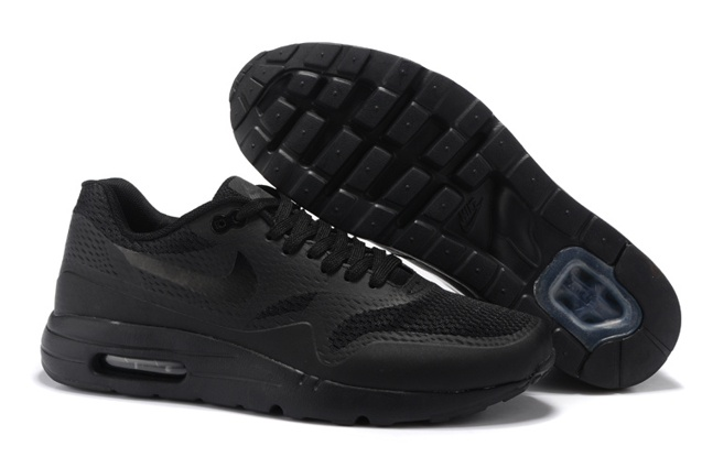 best service 5d61a 6ef05 Prev Nike Air Max 1 Ultra Essential Triple Black ...