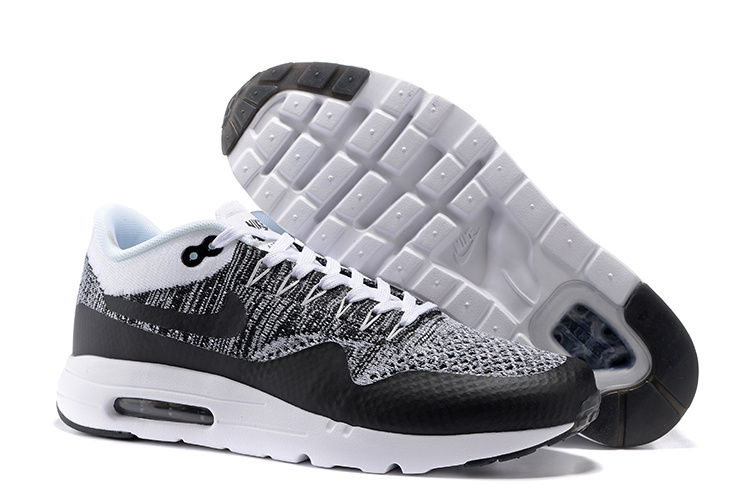 los angeles 5cd7b df77e Prev Nike Air Max 1 Ultra Flyknit White Black Oreo NEW DS NSW Running Shoes  HTM 843384. Zoom