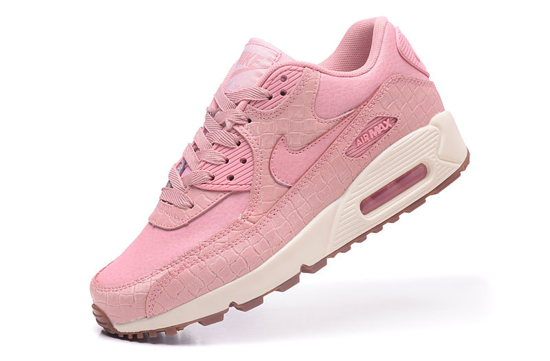 c750cff2c84 ... Nike Air Max 90 Classic pink Grass matte pattern women Running Shoes  443817-600 ...