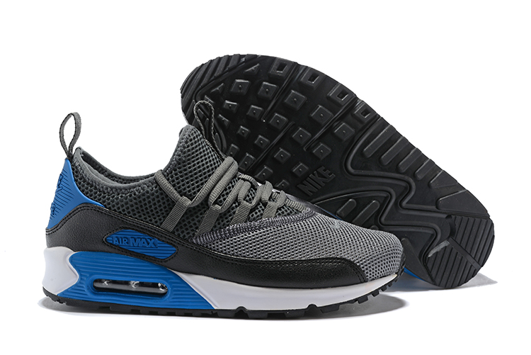 Nike Air Max 90 EZ Running Men Shoes Wolf Grey Blue
