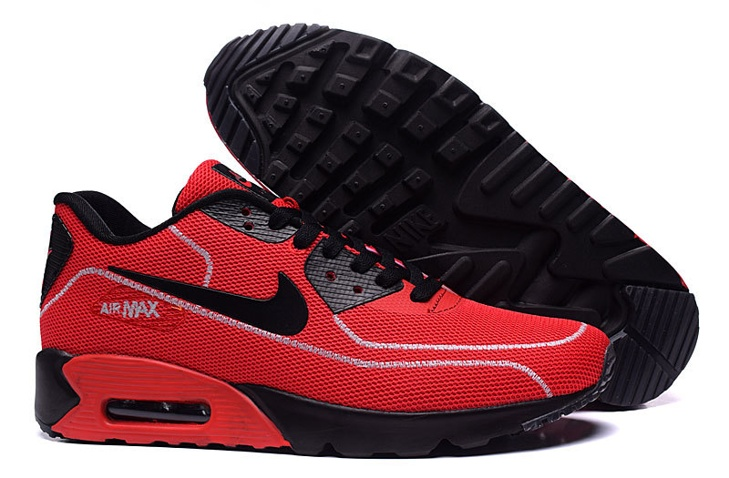 online store 4be89 90ad7 Prev Nike Air Max 90 Fireflies Glow Men Running Shoes BR Red Black ...