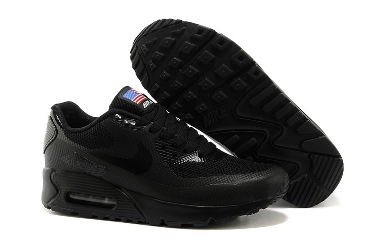 0ee39e083f62c Nike Air Max 90 Hyperfuse QS Sport USA Black July 4TH Independence ...