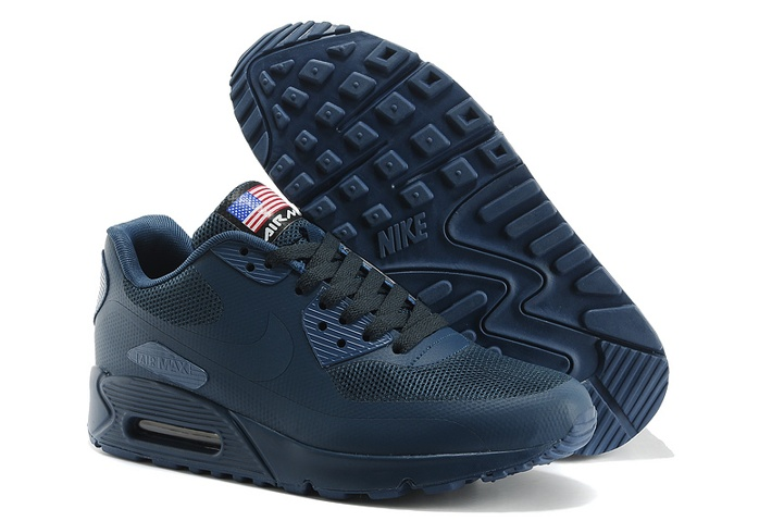 31a21a2b29 Prev Nike Air Max 90 Hyperfuse QS Sport USA Navy Blue July 4TH Independence  ...