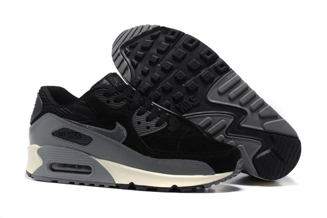 the best attitude 7f29a 3ebb4 Prev Nike Air Max 90 LTHR Leather Black White Men Women Running Shoes  768887-001. Zoom