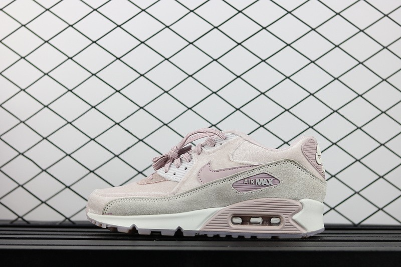 925a607478 Nike Air Max 90 LX Particle Rose Pink Running Shoes 898512-600 - Febbuy