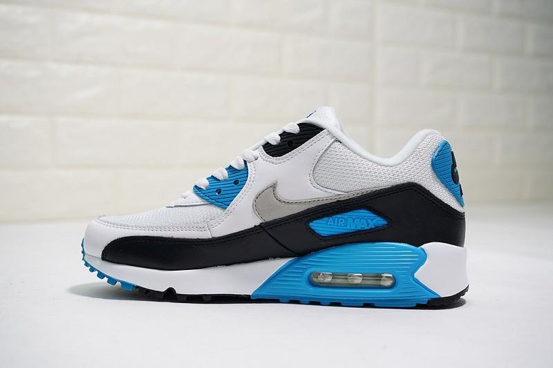 2d1c64f881 Nike Air Max 90 Laser Blue White Black Infrared Volt JD 325018-108 ...